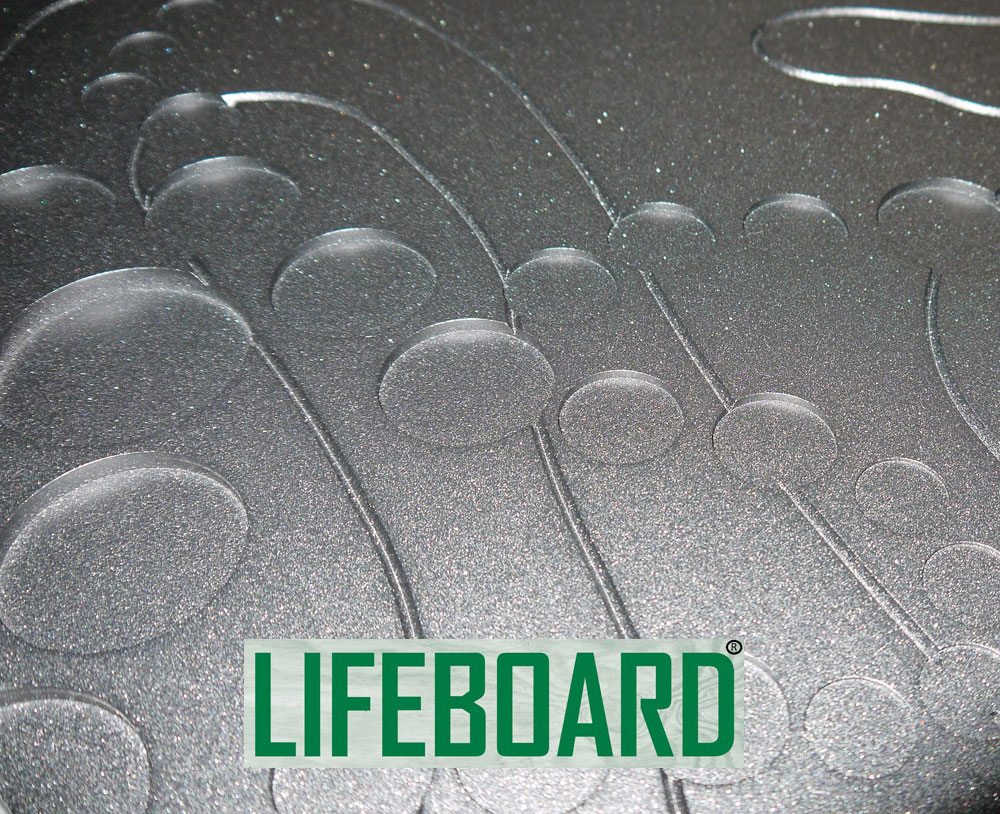 Lifeboard powdercoated decorative panel