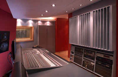 diffusers in music studio